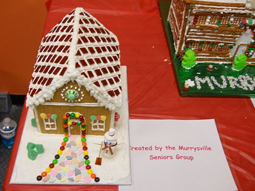Gingerbread House for Night of Lights