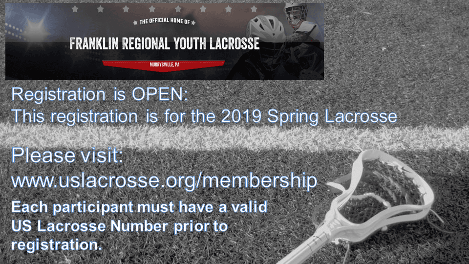 Murrysville Lacrosse Spring Sign up