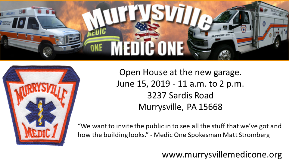 Medic One Open House 6-15-19