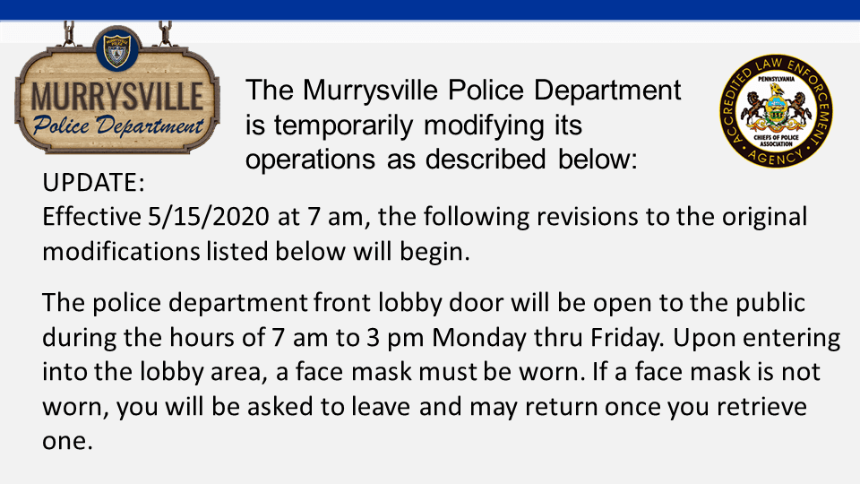 MPD COVID-19 Temp Operations Update 5-15-20 Slide1