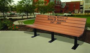 bench donation example