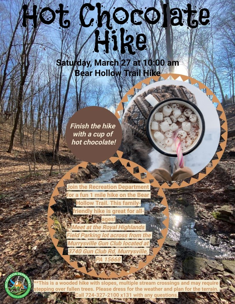 Hot Chocolate Hike-March 27